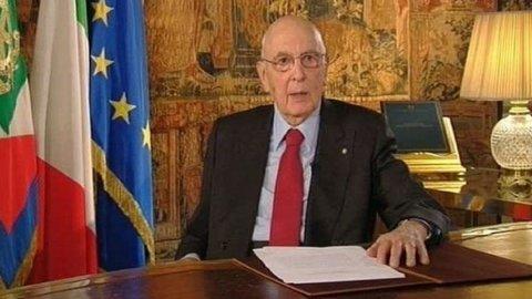 Napolitano: L'Italia può e deve farcela