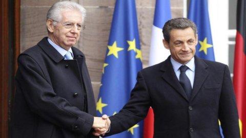 Il trilaterale Monti-Merkel-Sarkozy potrebbe slittare