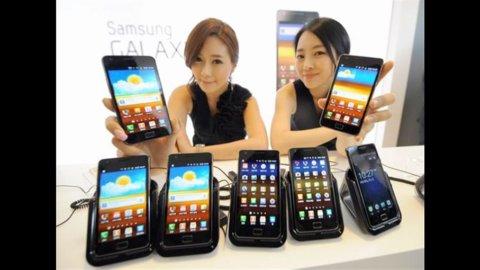 Samsung decolla: il fatturato cresce del 22%