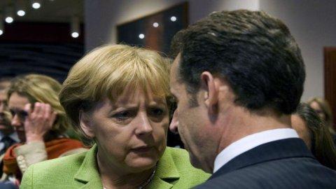 Merkel-Sarkozy: subito la Tobin Tax. Anticipato a gennaio vertice Ue su patto bilancio