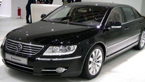Volkswagen sceglie Poltrona Frau per la nuova Phaeton Exclusive