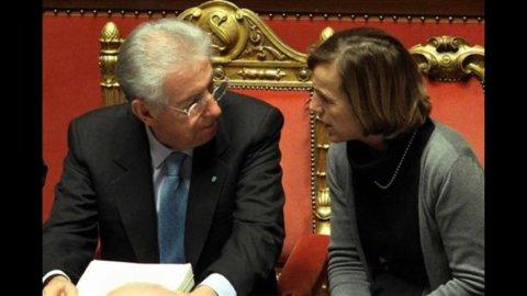 """Monti: """"Ora più concorrenza, è un'azione sociale"""". Al via decreto Cresci-Italia"""