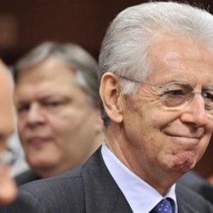 """Monti: """"Possibile un'evoluzione della Bce"""" sul modello Fed"""