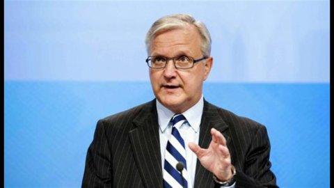 Grecia: Rehn, entro tre giorni accordo con i creditori sulla ristrutturazione del debito