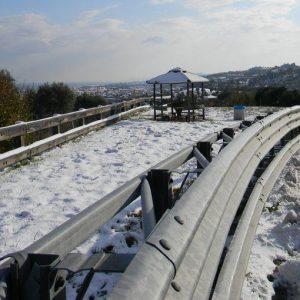 Maltempo: neve e gelo al centro-nord, a rischio la circolazione di tir e mezzi pesanti