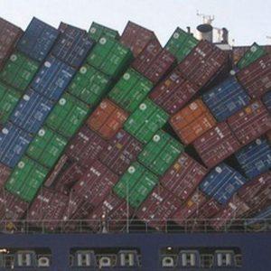 Borsa, tonfo storico per l'indice del trasporto marittimo