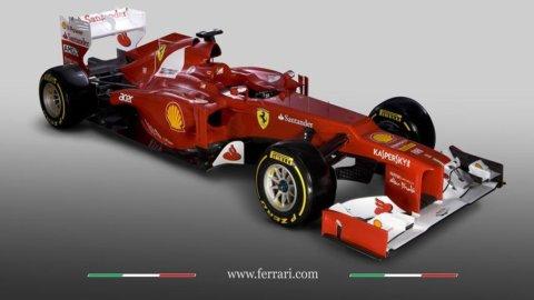 Ferrari, ecco la nuova F2012: svelata via web, causa neve