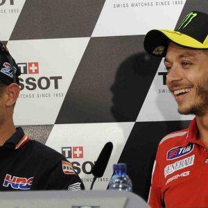 MOTOCICLISMO: Rossi-Stoner, come i duelli storici della Formula 1