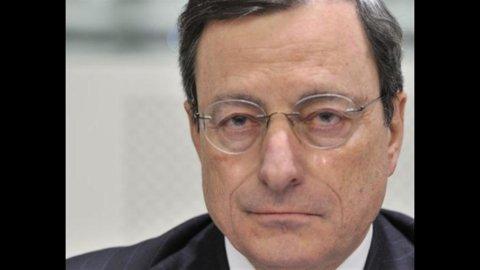 Bce, Draghi: Eurozona verso stabilità, ma rimangono i rischi