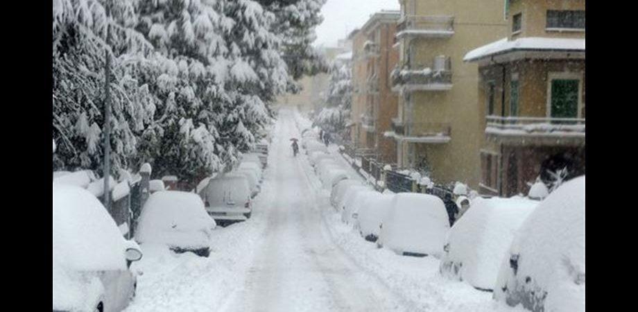 In tutta Italia gran freddo fino a giovedì