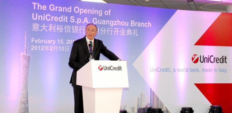 """Unicredit, Ghizzoni: """"Domanda di credito riparte, Tltro già finito"""""""