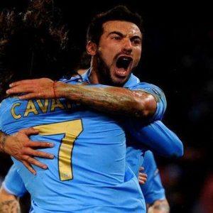 Champions League, la notte magica del Napoli: Lavezzi e Cavani rimontano il Chelsea