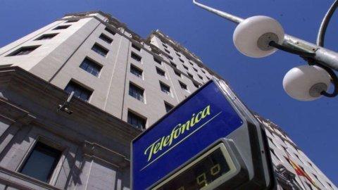 Telefonica, crolla l'utile del 54% nella zona euro