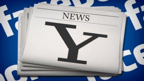 Facebook e Yahoo! hanno trovato un'accordo sui brevetti e avvieranno una partnership