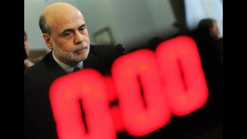 Bernanke (Fed) prevede una lieve ripresa nel prossimo trimestre