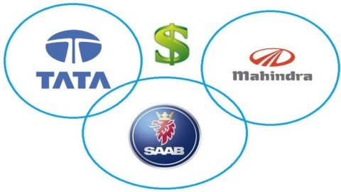 Tata Motors vuole Saab: offerti 350 milioni di dollari