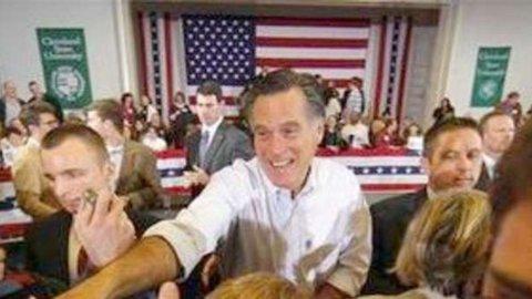 Presidenziali Usa, Romney spaventa le assicurazioni sanitarie