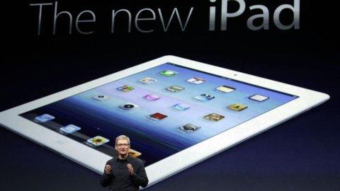 Apple, lancio record per il new iPad: 3 milioni di tablet venduti in un weekend