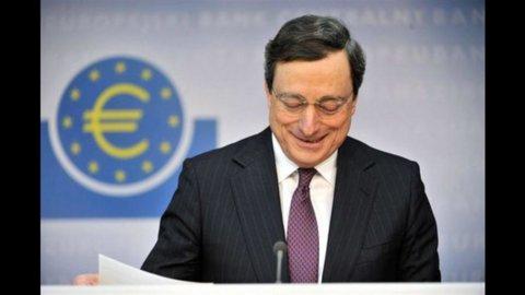 Draghi, economia dà segni di stabilizzazione ma la Bce taglia le stime sul Pil del biennio