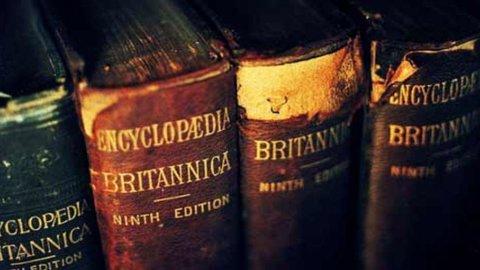 Enciclopedia Britannica, addio all'edizione cartacea: da oggi solo su internet