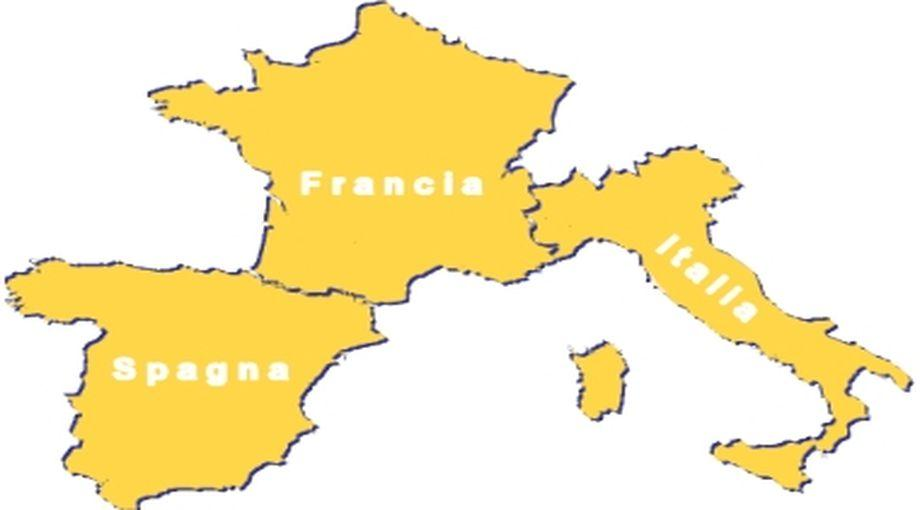 Cartina Italia Francia E Spagna.Registro Imprese Accordo Italia Francia Spagna Per Scambio Dati