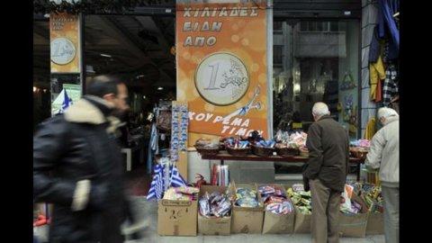 Grecia, Banca centrale: Pil 2012 a -4,5%, ripresa dal 2013