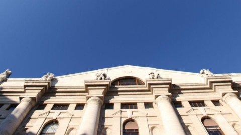 Piazza Affari chiude in forte rialzo (+3,42%) una settimana nera: decisivo il recupero delle banche