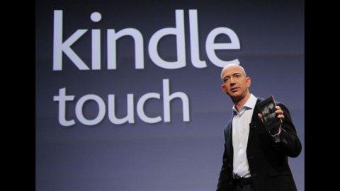 Amazon presenta il Kindle Touch  3G, l'e-reader che si connette gratis