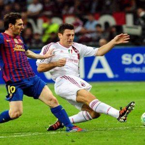 Champions League: Milan-Barcellona 0-0. I rossoneri soffrono ma resistono, e ora il Camp Nou
