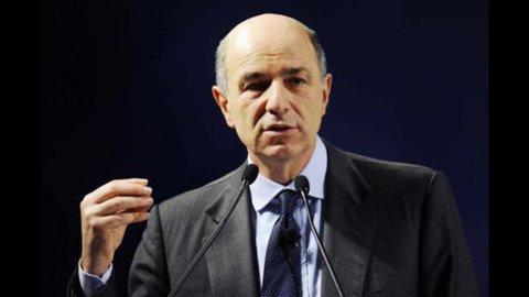 """Passera, Italia tra recessione e credit crunch: """"C'è bisogno di semplificazioni"""""""