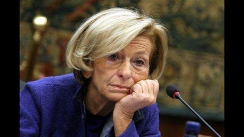 """Emma Bonino:""""Sarebbe un suicidio far cadere Monti prima del 2013 e non bisogna fissarsi sull'art.18″"""