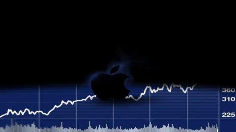 Apple vale 600 miliardi, più del doppio di Microsoft