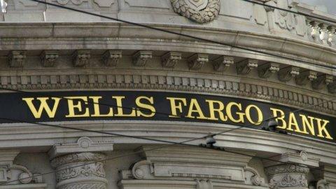 La banca statunitense Wells Fargo: utili +13% a inizio 2012