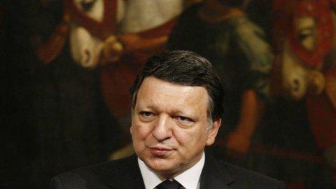 """Barroso: """"La Spagna ce la farà"""""""