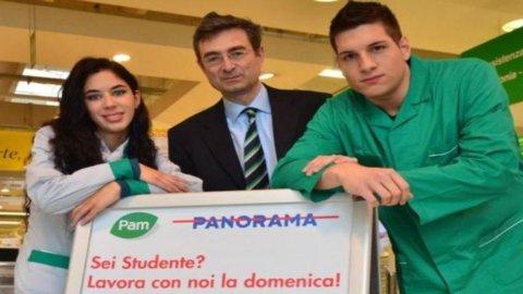 Pam, è boom di richieste dagli studenti per lavorare la domenica