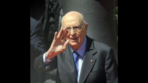 Napolitano: no all'antipolitica ma i partiti si rinnovino