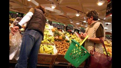 Istat: vendite al dettaglio +0,6% febbraio, +0,1% su anno
