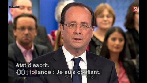 Merkel: lavorerò bene anche con Hollande