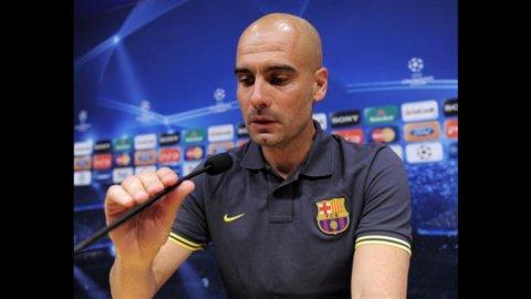 """Guardiola dice addio al Barcellona: """"Dopo quattro anni sono stanco"""""""