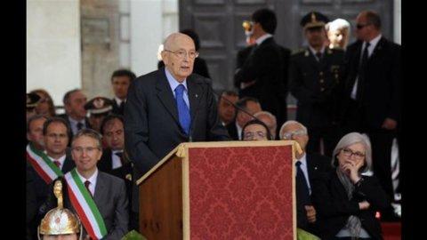 Napolitano: alle amministrative  nessun boom di Beppe Grillo
