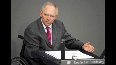 """Il ministro delle Finanze tedesco Schauble: """"Atene può lasciare l'Euro"""""""