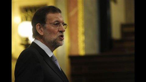 """Rajoy: """"La Spagna rischia di restare fuori dai mercati"""""""