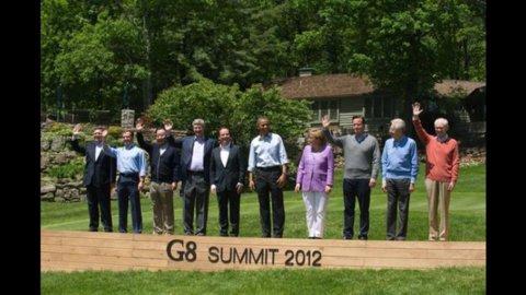 G8, parole d'ordine: crescita e occupazione