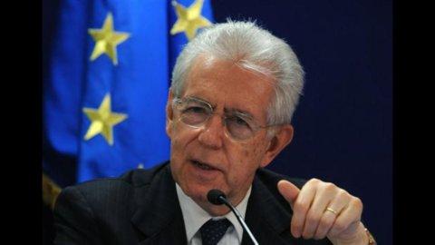 Monti: Eurobond? Non manca molto