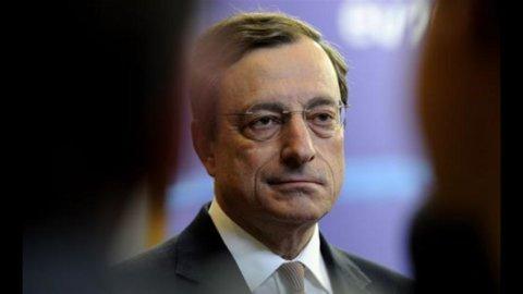 Draghi: i tre pilastri dell'Unione bancaria europea per evitare il rischio contagio