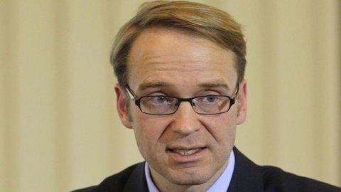 "Bundesbank, il presidente Weidmann minaccia le dimissioni: ""Bond Bce? Stati tossicodipendenti"""