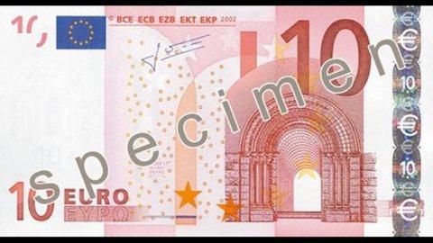 Euro scivola sotto quota 1,23 per la prima volta da due anni