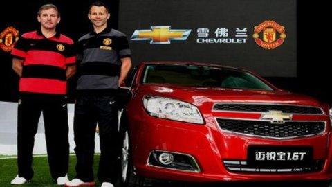 Sport e marketing: Chevrolet (General Motors) nuovo sponsor del Manchester United
