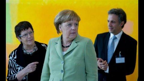 Ue, Merkel: serve unione politica, anche se a due velocità