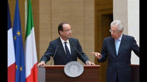 Monti-Hollande: obiettivo crescita, ma proteggendo i Paesi virtuosi